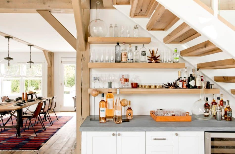 bar under stairs by Timothy Godbold