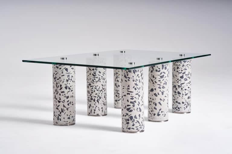 Concrete Coffee Table by Oliver Whyte