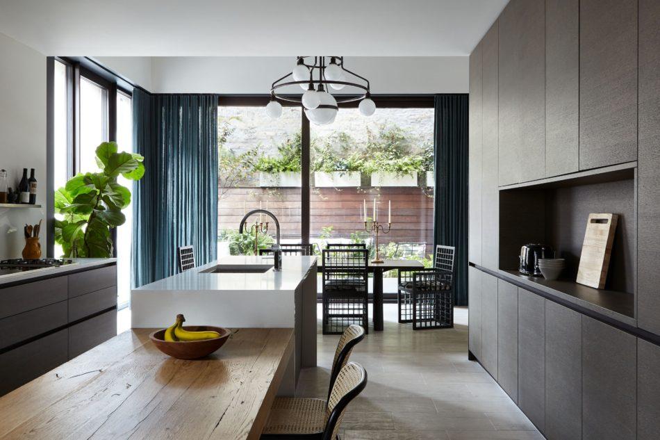 Josh Greene-designed kitchen in Dumbo