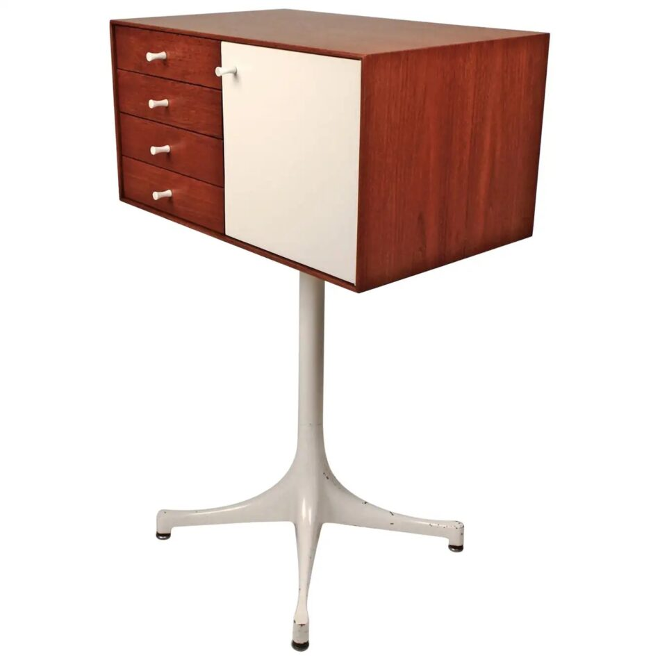 George Nelson for Herman Miller Jewelry Chest in Teak