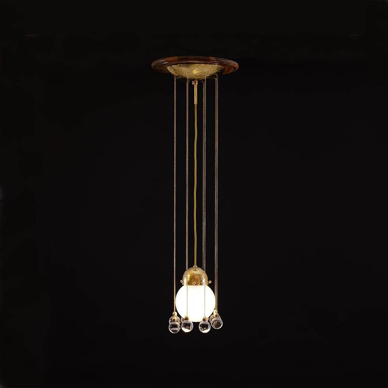 Josef Hoffmann's 1905 Pendant Light, Woka Lamps
