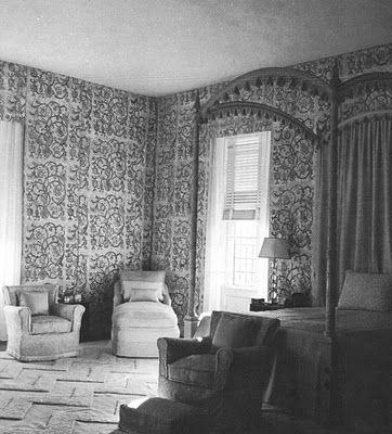 Celia Tobin Clark bedroom
