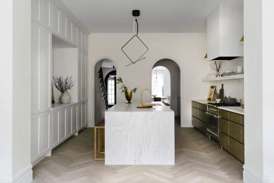 Fort Greene kitchen by Jae Joo Designs