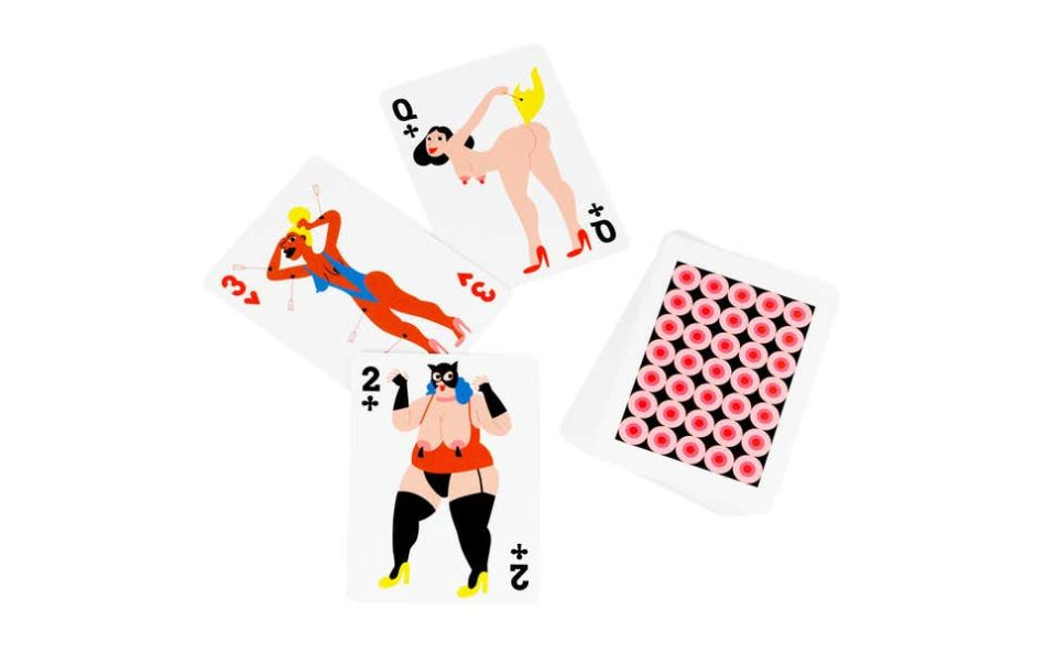Roma Manikhin for Normann Copenhagen x Brask Art Collection Playing Cards