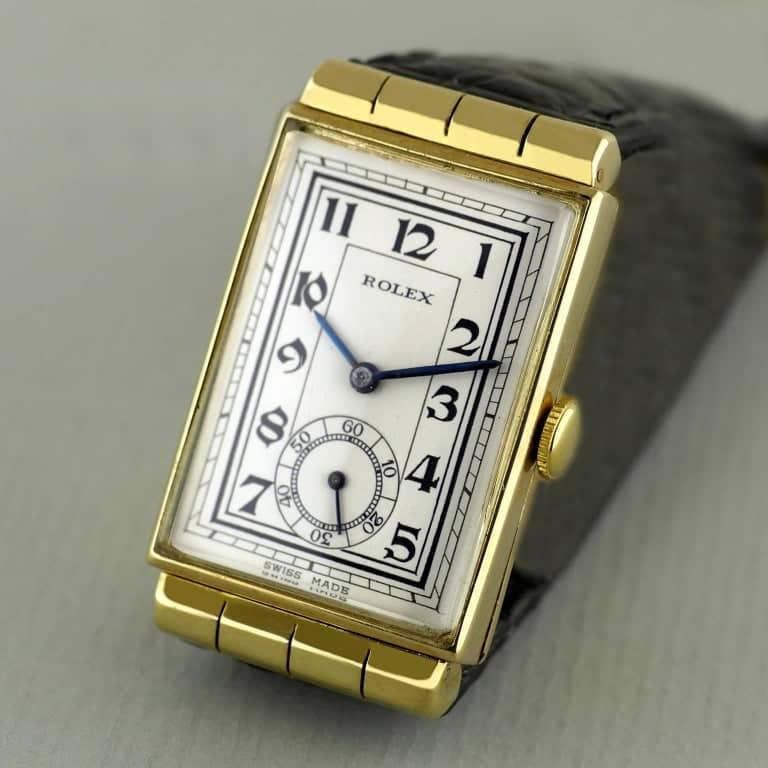 Art Deco Rolex wristwatch, 1937