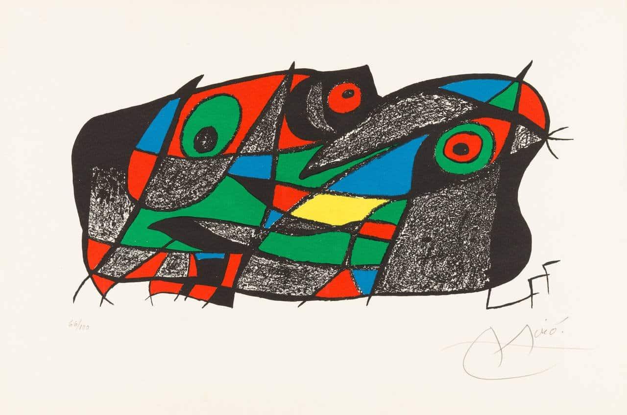 Fotoscop, 1975, by Joan Miró