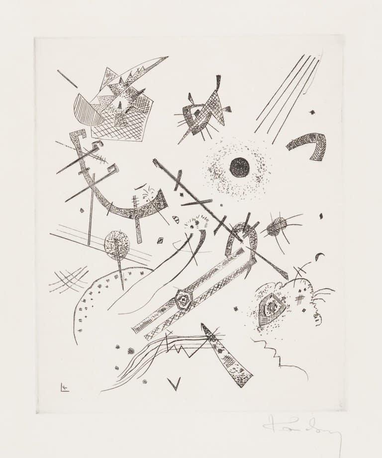 Kleine Welten XI, 1922, by Wassily Kandinsky