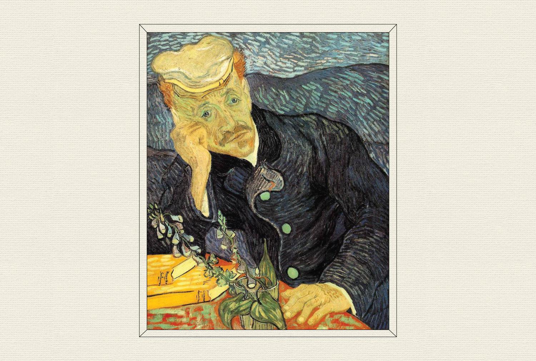 Portrait of Dr. Gachet, 1890, by Vincent van Gogh