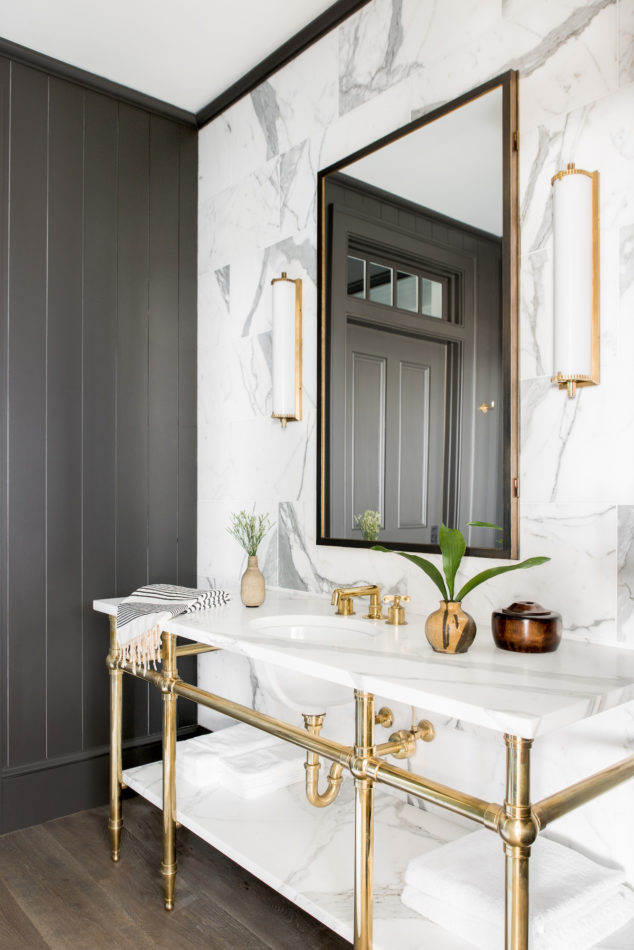 Cortney Bishop-designed bathroom
