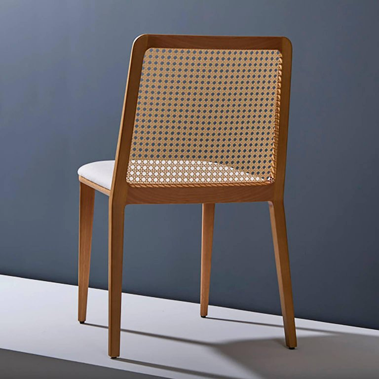 Adolini + Simonini's Solid Wood Chair
