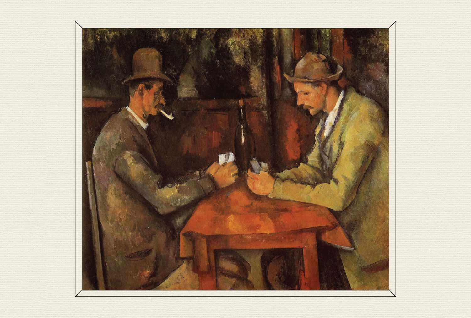 The Card Players, 1892–96, by Paul Cézanne
