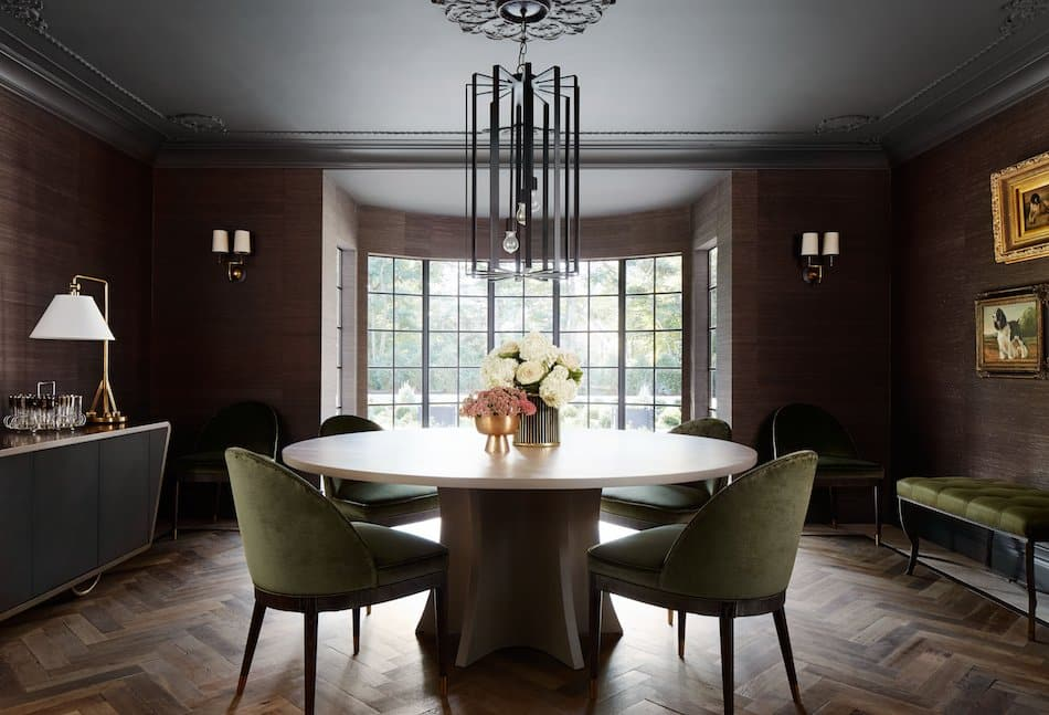 dining room by Summer Thornton