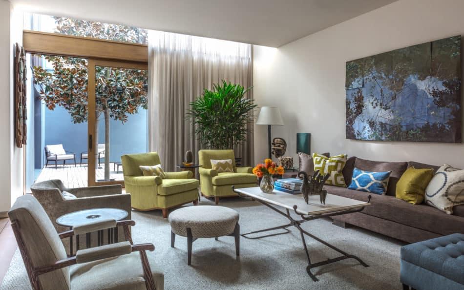 Venice Beach living room
