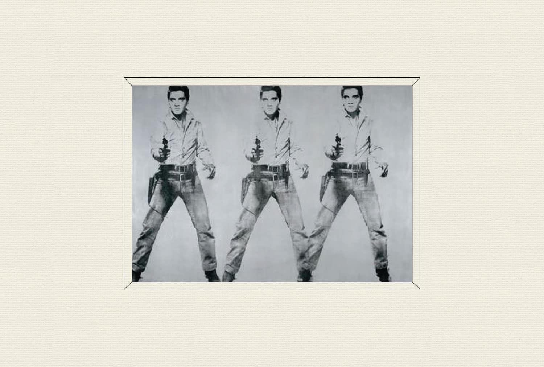 Triple Elvis, 1963, by Andy Warhol