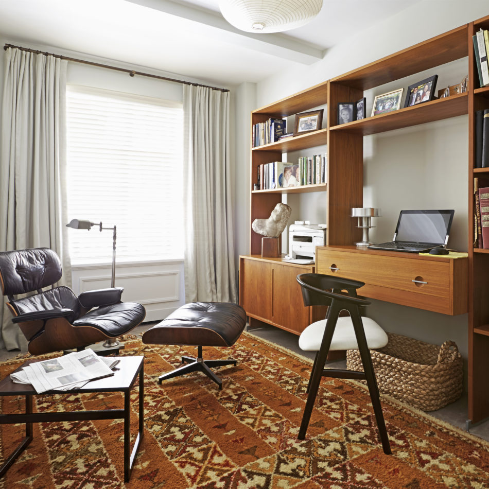 Alexander Doherty-designed home office on the Upper West Side