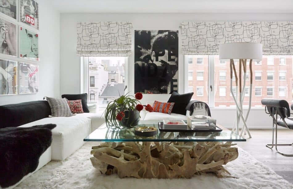 Living room by Jessica Schuster Interior Design in New York