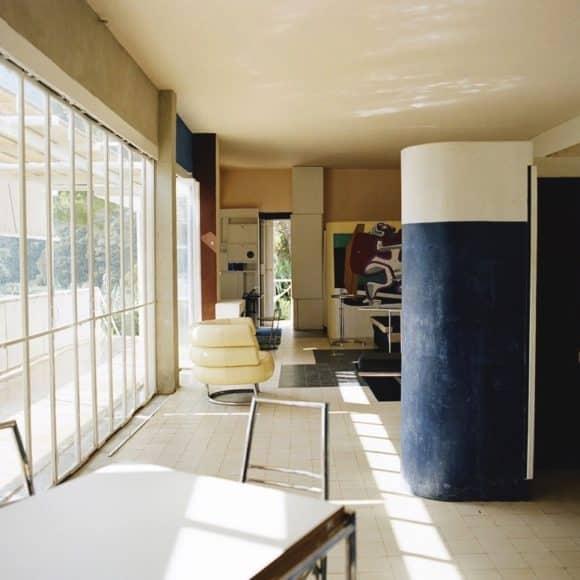 Residence E1027 by Eileen Gray, 1929. Imagery courtesy of Designtel.