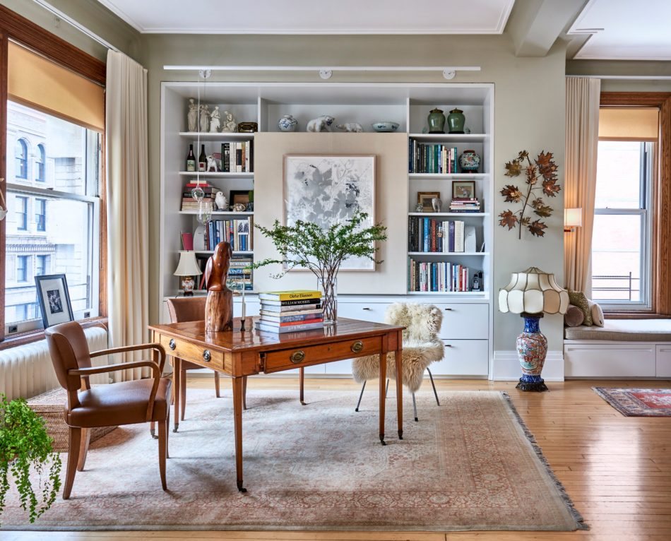 A Tribeca home office by InSpace NY Design