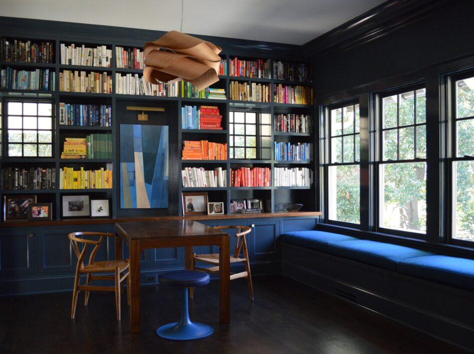 Atlanta library by Laura Jenkins