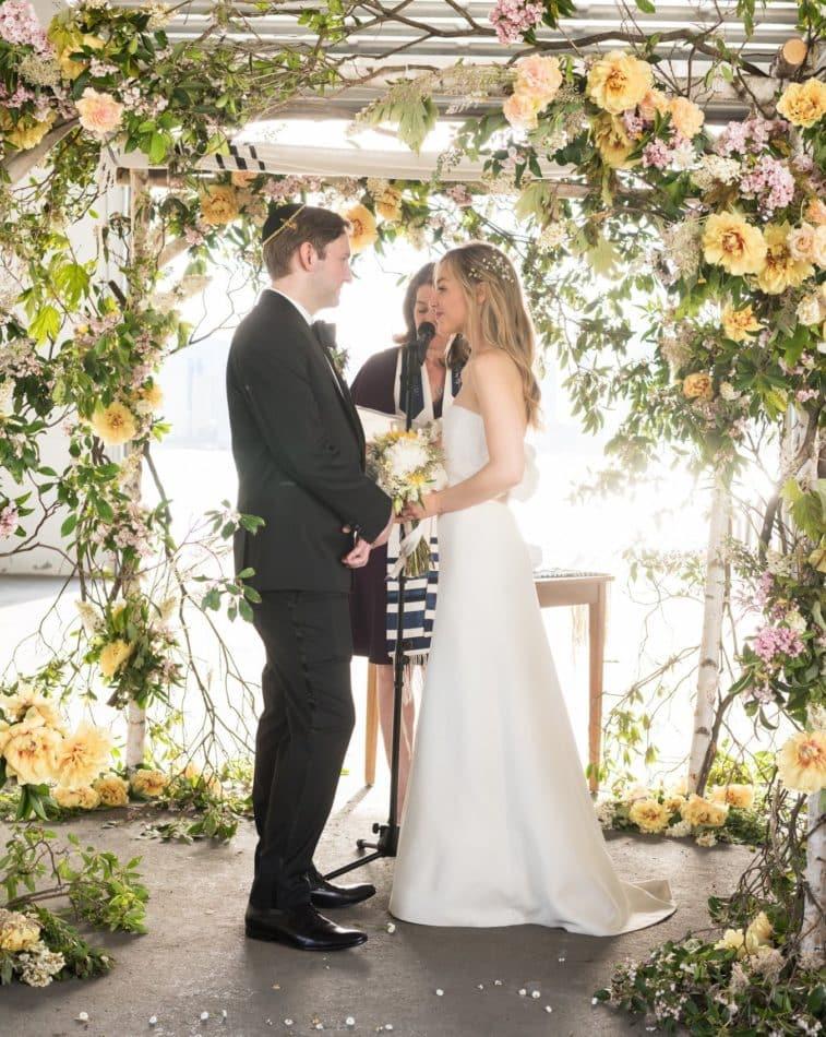 Morgan Cole and Alex Cole wedding ceremony