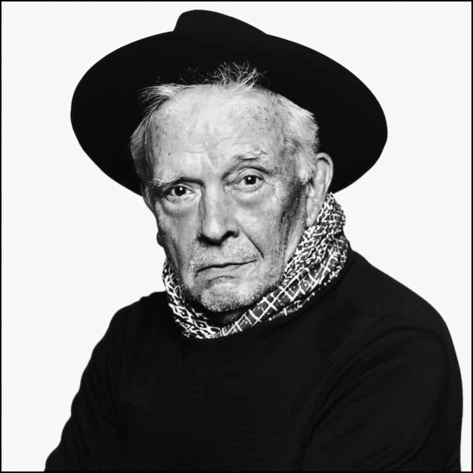 A David Bailey self-portrait from 2013