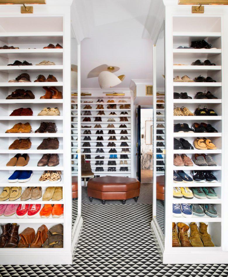 Nate Berkus-designed closet