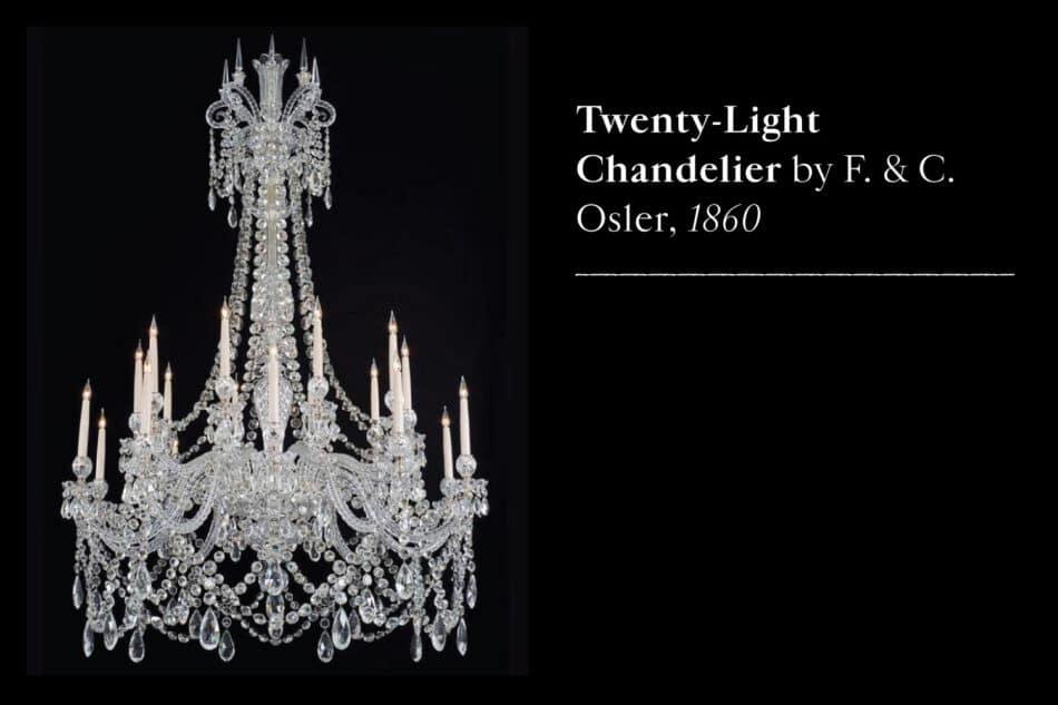 F.C. Osler chandelier