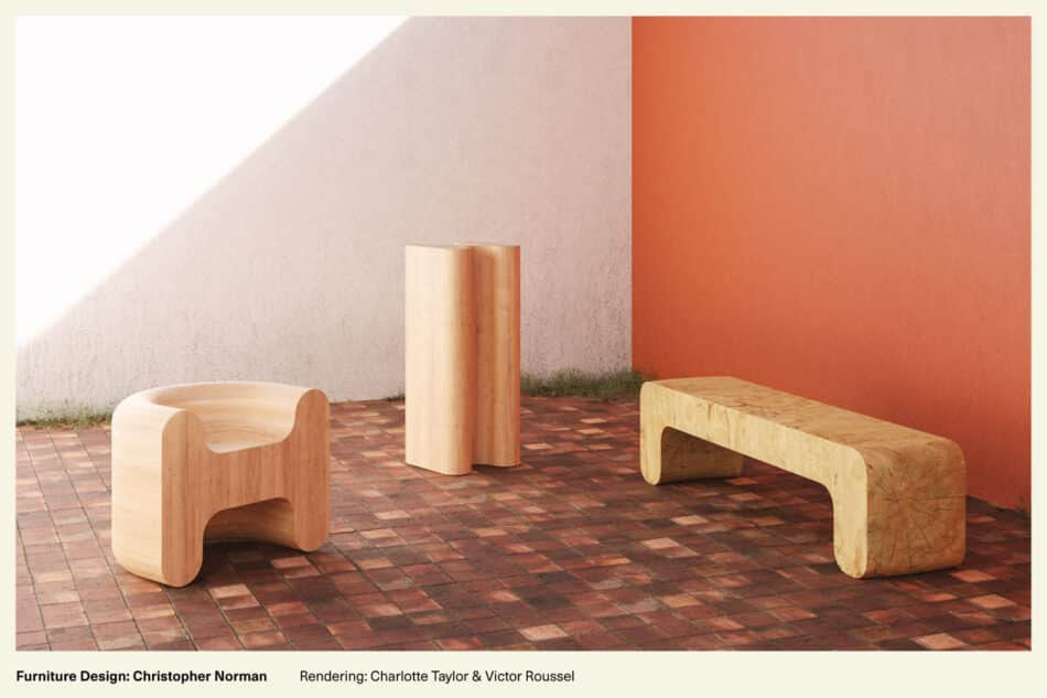 wood furniture crafted by artisans