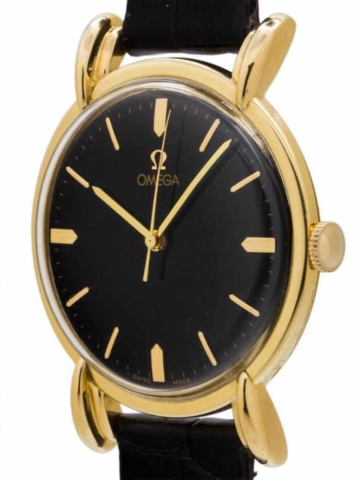Omega oversize dress model wristwatch, ca. 1946