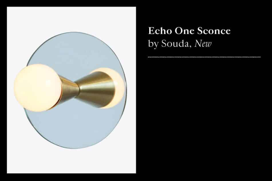 Souda Echo One sconce