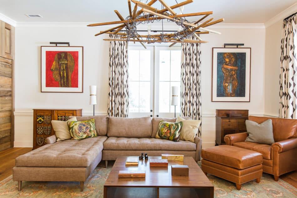 living room by Cortney Bishop