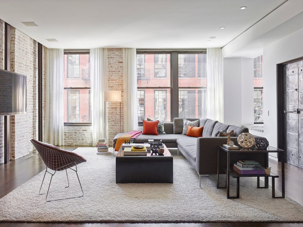 loft living room by Tamara Eaton