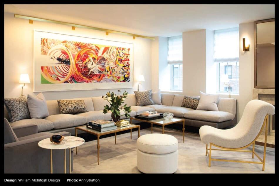 William McIntosh Design living room