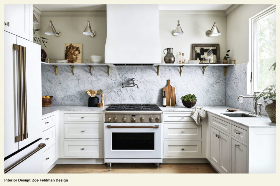 kitchen featuring refined finishes