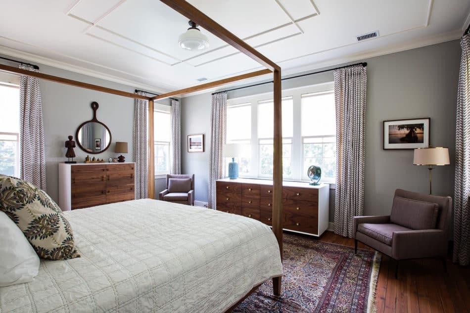 master bedroom by Cortney Bishop