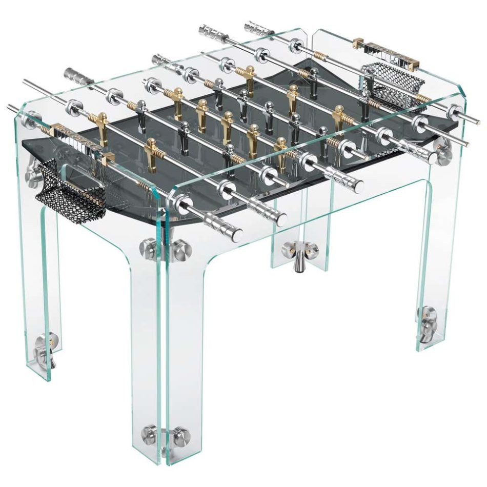 Teckell Cristallino Gold Foosball Table