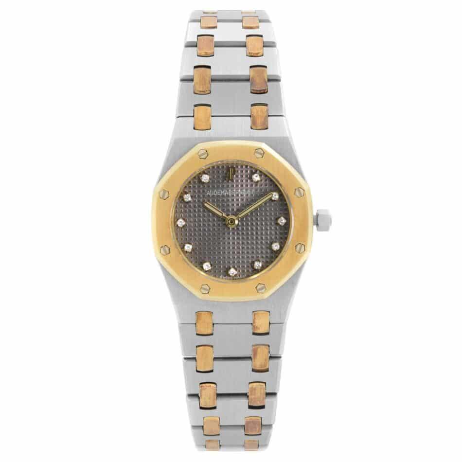 Audemars Piguet Royal Oak watch in steel and rose gold