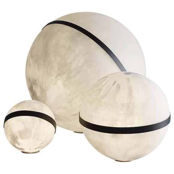 Martha Sturdy's Lunar illuminated resin sphere, 2010–
