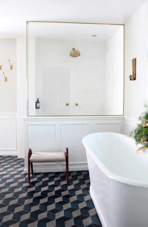 Rebecca Wernberg bathroom