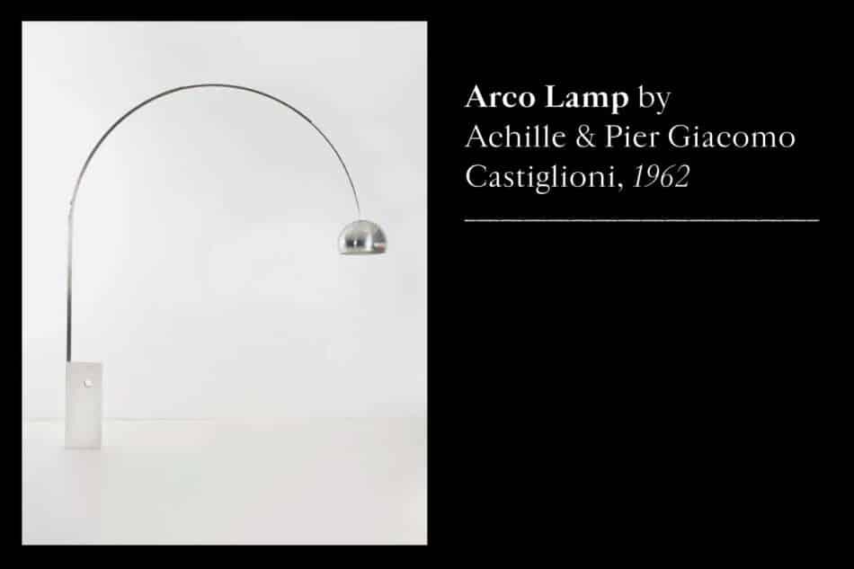 Arco Lamp by Achille and Pier Giacomo Castiglioni