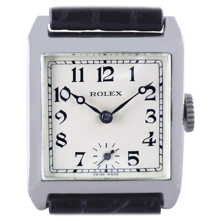 Rolex Art Deco wristwatch, 1926