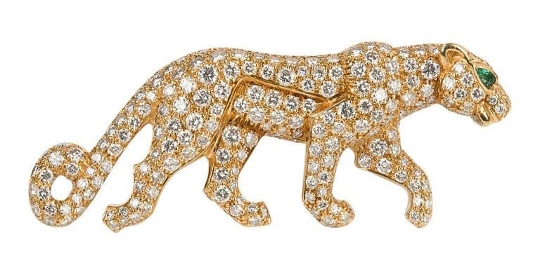 Cartier Panthere brooch