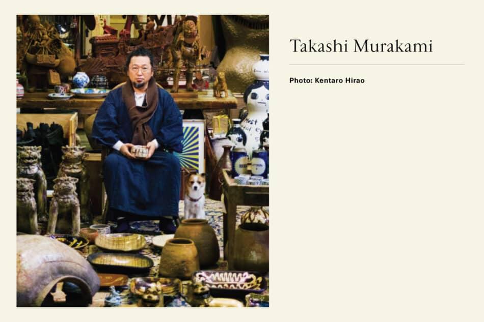 Photograph of Neo-pop artist Takashi Murakami