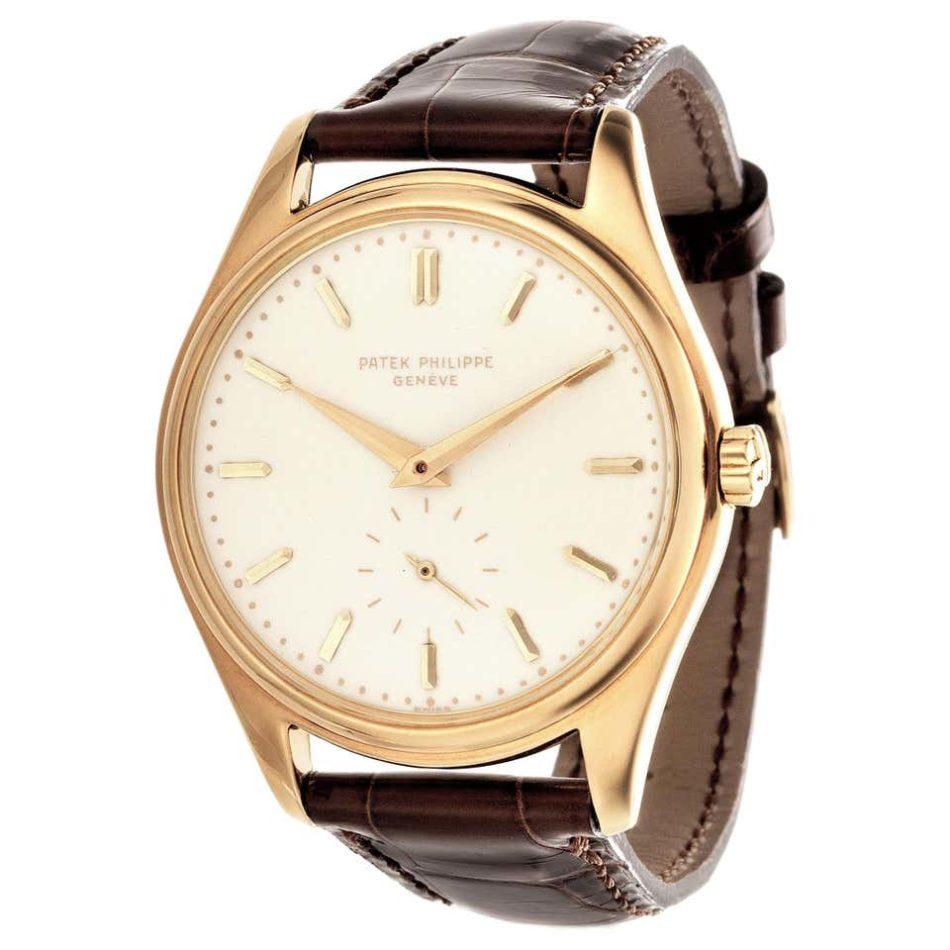 Patek Philippe 2526J 1st Series automatic Calatrava watch, 1954