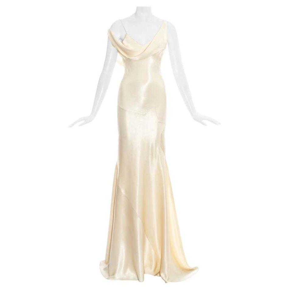 John Galliano Bias Cut Wedding Dress, Spring/Summer 1995