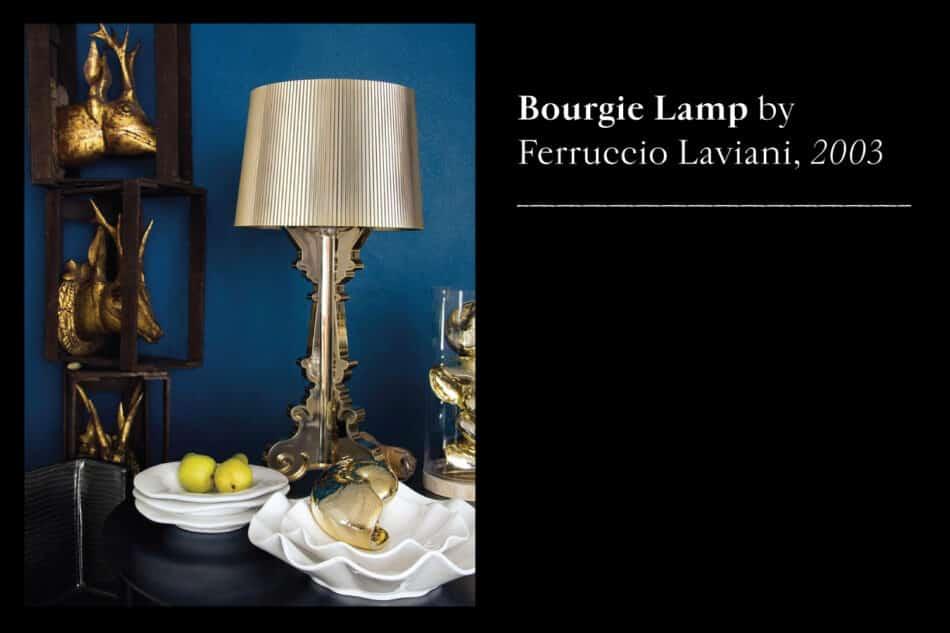 Bourgie lamp by Ferruccio Laviani
