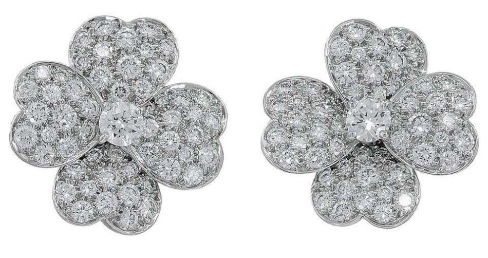 Van Cleef & Arpels Cosmo earrings