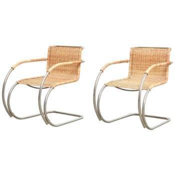 Mies van der Rohe MR20 chairs