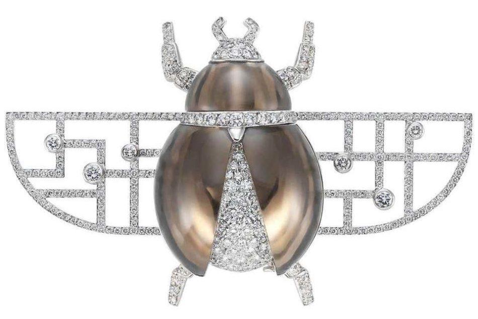Cartier bug brooch