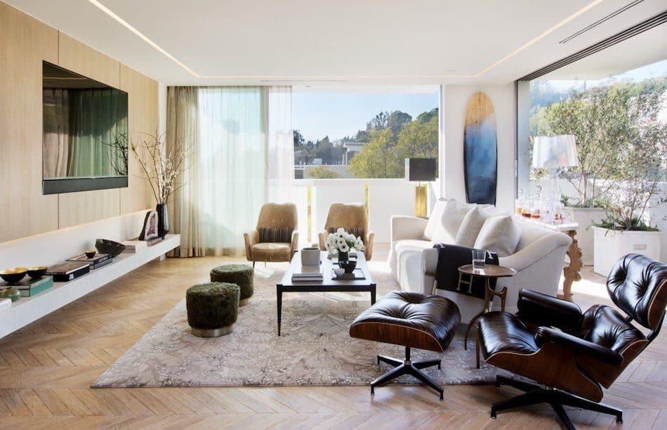 Adam Hunter living room